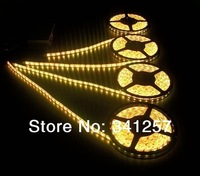 NEW 5050 SMD 300 LEDS  5m Roll Flexible Light Strip Lamp DC12V Warm White factory wholesale Free shipping