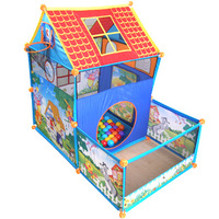 Free shipping elegance  child tent toy folding outdoor game house interesting kids education toy set