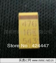 50pcs/Lot Taje107k016rnj e 7345 16v 100uf smd avx tantalum capacitor type !(China (Mainland))