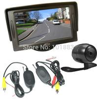 "CAR REAR VIEW KIT 4.3"" TFT LCD SCREEN MONITOR+WIRELESS CAR REVERSE BACKUP PARKING CAMERA 170 DEGREE"
