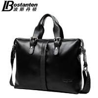 New Brand Designer genuine leather handbags  High-end men business briefcase Excellent bolsas femininas