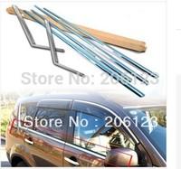 2007~2012 Mitsubishi Outlander EX Window Molding Trim Line Exterior 6 pcs