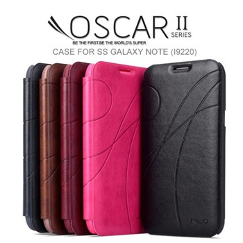 Original Galaxy Note I9220 Leather Wallet Case Top Grade PU Leather 1 Card Holder Cases For Samsung Galaxy Note i9220 KLD Brand