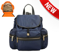 2014 Vintage new famous name plaque Nylon Backpack bag for women lady for Travel (416)