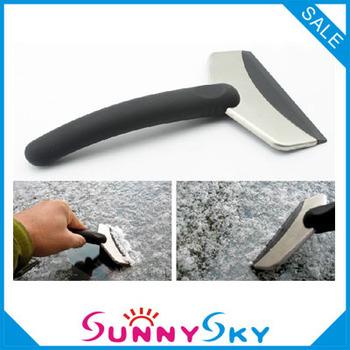 6.9USD/PCS.Hot sale Car Ice Shovel Scraper Car snow blade.Mini snow brush shovel.Car ice scraper Auto clean tools. 2pcs/lot