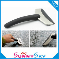Free shipping!Hot sale Car Ice Shovel Scraper Car snow blade Mini snow brush shovel car ice scraper Auto clean tools 2pcs/lot