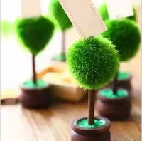 Free shipping 12pcs/lot Wedding favor Topiary tree Photo and Place Card Holder Wedding table decoration or party Wholesale