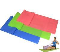 Natural Yoga belt tension resistance bands pilates equipment elastic fitness expander elastic belt stretch belt stretch belt