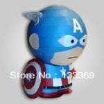 Free shipping 3D paper model Yakuchinone Captain America DIY paper model