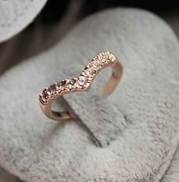 Min order is 10 USD FREE SHIPPING, 2013 Korean FASHION models  pinkie ring unique design ring tail ring