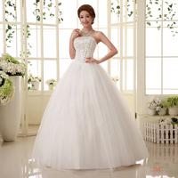 Hy tube top bandage laciness lacing wedding dress slim princess