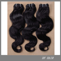 "DF Hair:Cheap 100%Brazilian Virgin Human Hair Free Shipping Hair Weft 12""14""16""18""20""22""24""26""28""30"" BodyWave 3pcs/lot 100g/pc T"