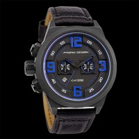 Pagani Design belt watch men watch men's sports waterproof watch racing multifunctional stopwatch (CX-2652)