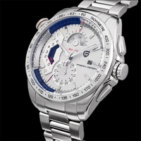 Pagani Design Genuine men's quartz watch men's watches waterproof sports steel male table (CX-2492A)