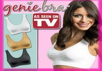 60pcs/lot (20set) Wholesale Seamless Leisure Bra Genie Bra with Removable Pads As Seen On TV Seamless Bra (OPP Bag)