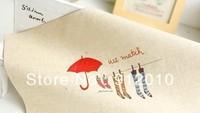 10PC 20*30cm Umbrellas, socks  Hand Painting Dyeing Natural Cotton Linen Canvas Handmade DIY Patchwork Fabric Mix Order