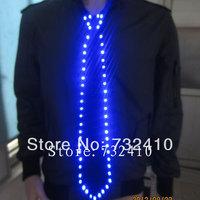 General casual ties light emitting led tie luminous tie trend