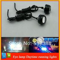 High Power Car Lights New Ultra-Thin 3W Eagle Eye Lamp LED For Daytime Running Light DRL Lamp Fog Light  Waterproof  Do Licence
