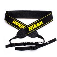 Neoprene Camera Neck Strap For Nikon D5000 D5100 D90 D80 D70 D3100 D700 D7000, Black
