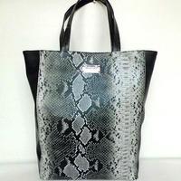New 2014 Women Handbags of Famous Brands Designer Tote Bag Snake Skin Shoulder Bag Mango Luxury Leather Shopping Bag Snakeskin