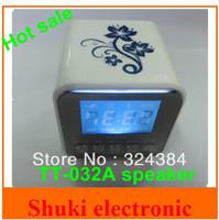Mini digital portable speaker with usb disk TF card FM radio, TT-032A mp3 soud box subwoofer