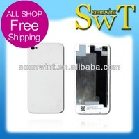 CDMA rear cover For iphone 4 rear cover  battery cover CDMA  (with logo)  + good quality + Free shipping