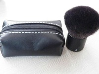 Natural Animal Black Soft Hair Makeup Tool Blush With Bag,Face Power Brush #182,TOP Quality