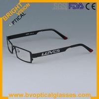 Fashionable hollow carved handsome full rim metal eyeglasses frames for men (5035)