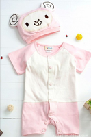 Free shipping 2013 winter coverall newborn baby rompers clothes to climb clothing / hat piece coverall romper coveralls hat 0005