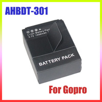 Digital Boy 2 x AHDBT 301/201 Replacement Battery For GoPro HD Hero3 and AC/DC Charger+Car charger+Plug adapter Free Shipping