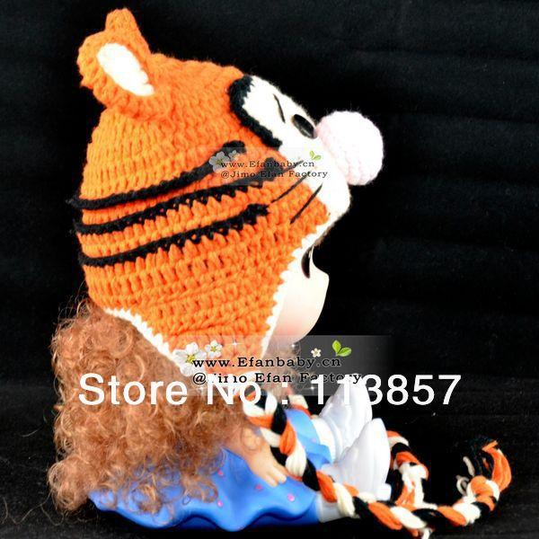 Tiger Baby Hat Winter
