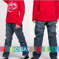 2014 New Boys Jeans Free Shipping Autumn Kids Pants Spring Wear Denim Blue Trousers,Fashion Children K2194
