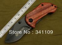 Free shipping 5pcs Boker Knives DA33 Tactical Folding Blade Knife Survival Outdoor Hunting Camping Combat Pocket Knife