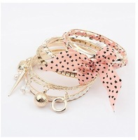 2014 Fashion New style fashion sweet bow Bangles Jewelry for women High Quality