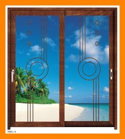 Top grade aluminium sliding door modern aluminum sliding window and door for villa