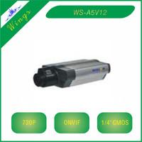 "1/4"" image sensor 1.3MP CMOS HD 720P box IP camera"