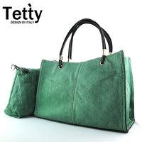 free shipping-2014 fashion first layer of cowhide brief genuine leather elegant fashion women's handbag messenger bag