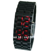 10pcs/lot wholesale new popular hot sales LED Mirror Digital high quality watch Plastic frame Silicone Quartz Unisex wrist watch