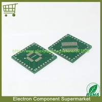 FREE SHIPPING 10pcs/Lot PFQP32 LQFP32 TQFP32 QFP32 SOP32 SSOP32 turn DIP32 0.8MM IC adapter Socket / Adapter plate PCB