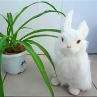 Big rabbit artificial animal big rabbit zodiac rabbit velvet fur toy model