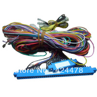2 Unit of 36+10 pin wire harness with power cord for casino game board/ red board amigo 16in1 cable for slot machine