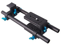 Fotga DP500 DSLR 15mm Rail Rod Support With Quick Release Plate For Matteboxes Follow Focus Camera Camcorder Lens