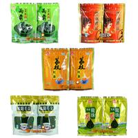 Promotion! Organic Combination Tea 5bag,Yuqian Green Tea+Leechee Black Tea +Maojian+Dianhong+Jasmine Dragon Ball,Free Shipping