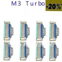 (32pcs/lot)High Quality & Original Packaging Brand Shaving Blades For Men ( M 3 T-20%* model ) Free ship