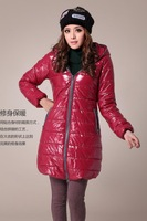 Wholesales Women Down Winter Jackets Ouertwear Overcoat trench coat US922-1 Warm Clothes