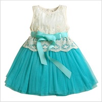 Retail high quality children girls sleeveless lace tutu dress 6 layered tutu dress girls summer ball gown