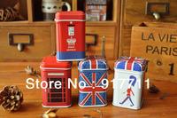 Zakka Grocery Mini Cylindrical Tin, Toothpick Box, Mini Storage Tube 140003