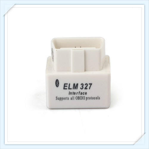 2014 New Arrival SUPER MINI ELM327 Bluetooth OBD2 V1.5 white OBDII Car Scan Tool Mini327 auto code reader ELM 327(China (Mainland))