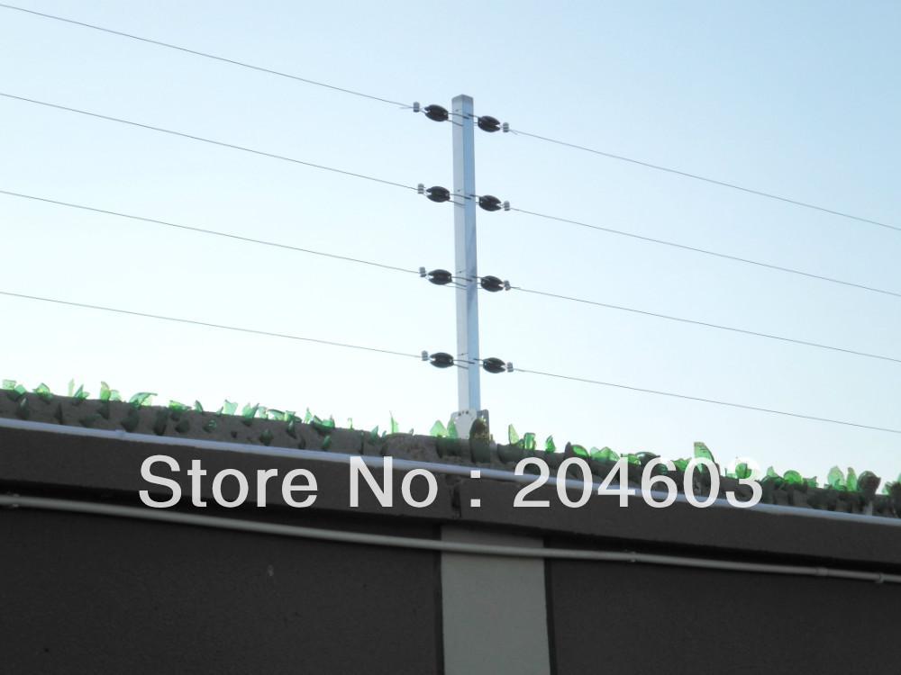 cerca para jardim alta : cerca para jardim alta:pulso de alta tensão cerca energizador com 12 V sirene em Cercas