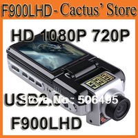 "High Definition Video Recorder F900LHD With 1080P 2.5"" TFT LCD(4:3) USB2.0 Night Vision Motion Detection Car Black Box(Russian)"